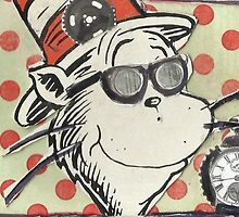 """""""SteamPunk"""" Cat! by RobynLee"""