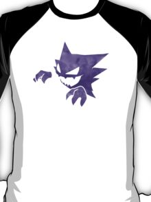 Pokemon: Textured - Haunter T-Shirt