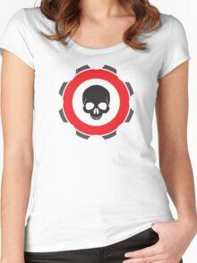 Gear Skull Women's Fitted Scoop T-Shirt