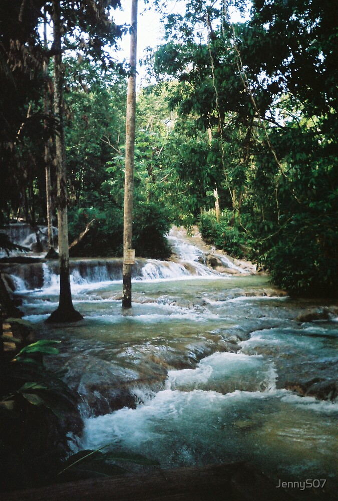 Dunns River Falls by JennyS07