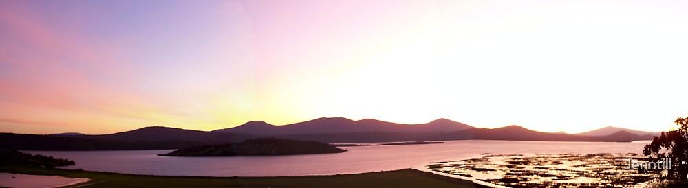 Beautiful Sunset by Jenntill