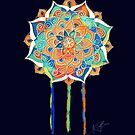 Midnight Mandala by © Karin Taylor