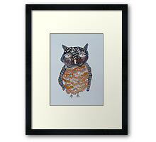 Quirky Owl 1 Framed Print
