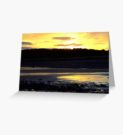 Golden View Greeting Card