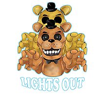 FIVE NIGHTS AT FREDDY'S-FREDDY-Lights Out Photographic Print