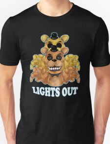 FIVE NIGHTS AT FREDDY'S-FREDDY-Lights Out Unisex T-Shirt