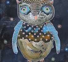 Quirky Owl 3 by Bea Roberts