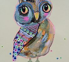 Quirky Owl 2 by Bea Roberts