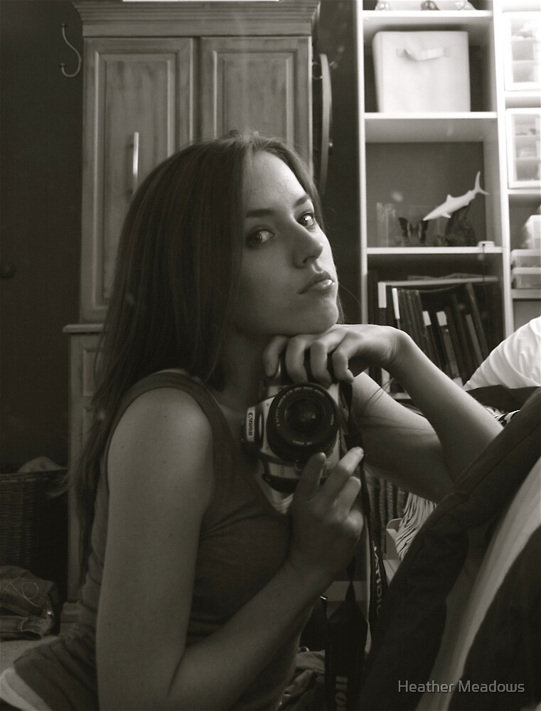 self Portrait by Heather Meadows