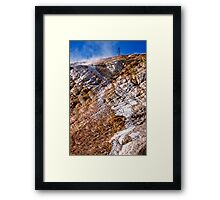 Mammoth Hot Springs 2 Framed Print