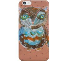 Quirky Owl 6 iPhone Case/Skin