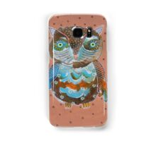 Quirky Owl 6 Samsung Galaxy Case/Skin