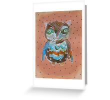 Quirky Owl 6 Greeting Card