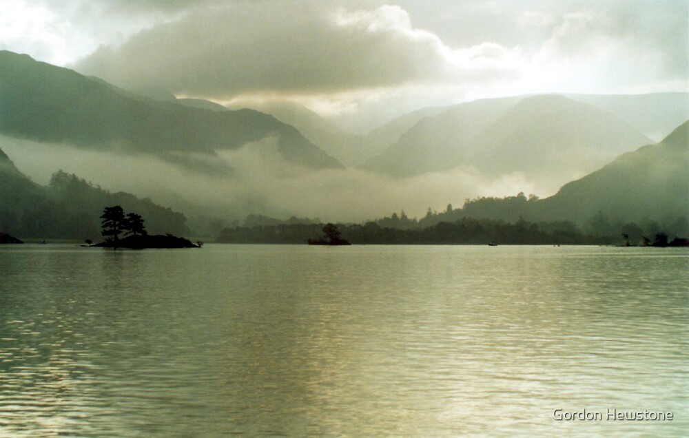 Ullswater Mist by Gordon Hewstone