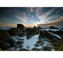 Foam Pool - Cape Foulwind Photographic Print