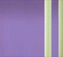 Yellow on Purple by PaulBradley
