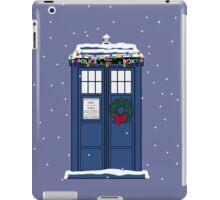 Festive Police Public Call Box. iPad Case/Skin