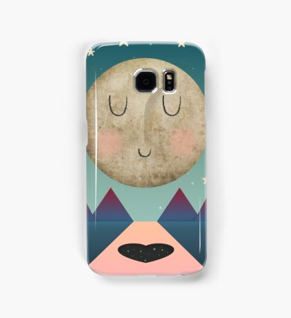 I Love You To The Moon and Back Samsung Galaxy Case/Skin