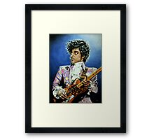His Royal Purpleness Framed Print