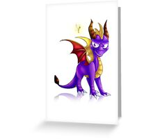 Spyro the dragon Greeting Card