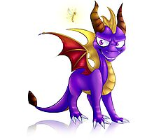 Spyro the dragon Photographic Print