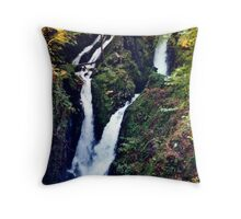Stock Ghyll Force (1) Throw Pillow