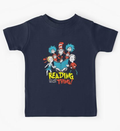 Reading Is My Thing Kids Tee