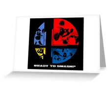 Ready to Smash? Greeting Card