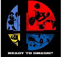 Ready to Smash? Photographic Print