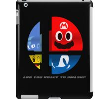 Are Ready to Smash? (Silhouette Var.) iPad Case/Skin
