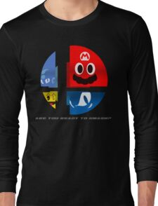 Are Ready to Smash? (Silhouette Var.) Long Sleeve T-Shirt