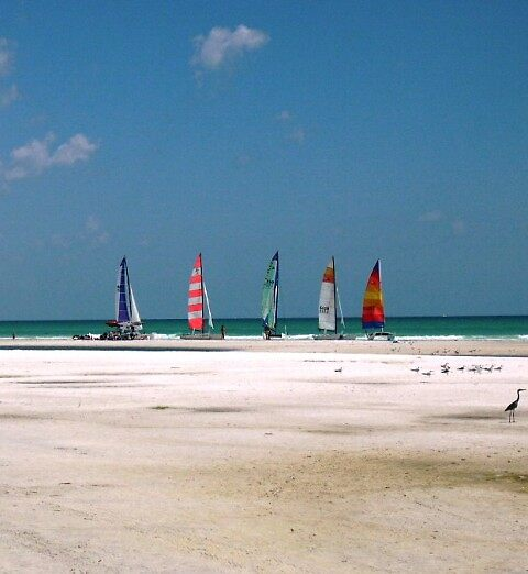 Sail Boats Sanabel Island, Florida / Jack Boyd by JackBoyd