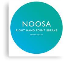 Noosa Surfing Canvas Print