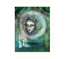 Let There Be Music - Madame Leota Haunted Mansion Art Art Print
