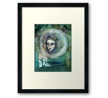 Let There Be Music - Madame Leota Haunted Mansion Art Framed Print