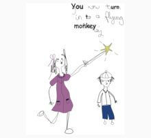 Flying Monkey by Lydia