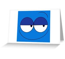 What's Blue looking at? Greeting Card