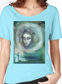 Let There Be Music - Madame Leota Haunted Mansion Art Women's Relaxed Fit T-Shirt