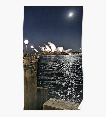 Sydney Series - Opera House Poster