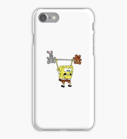 Spongebob Teddy Weight iPhone Case/Skin