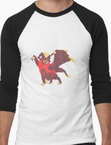 Watch Out, TEOSTRA! Men's Baseball ¾ T-Shirt