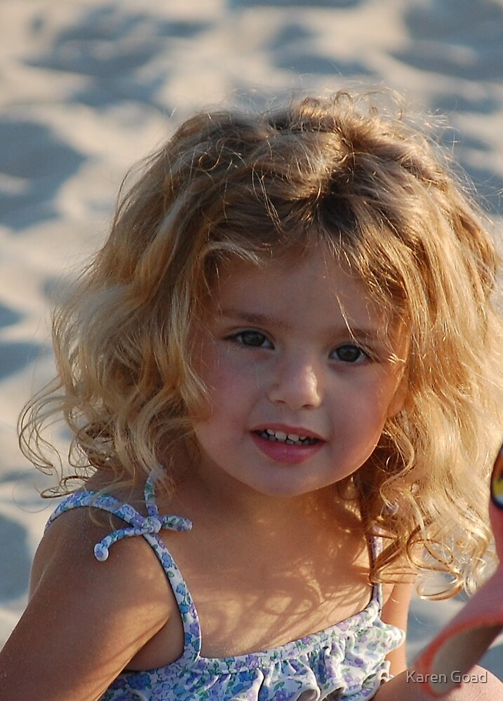 Child of pure innocence by Karen Goad