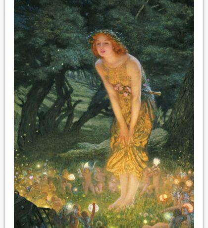 Edward Robert Hughes - Midsummer Eve Sticker