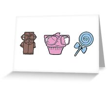 Sweet sweets Greeting Card