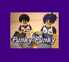Funky Punky DJ Clubbing Tru & his Dad Disco Stu (with CD and Record)  by Chillee