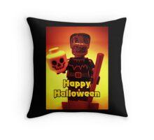 Happy Birthday Frankensteins Monster Throw Pillow