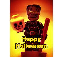 Happy Birthday Frankensteins Monster Photographic Print
