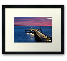 Lorne Pier, New Day, New Life Framed Print