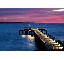 Lorne Pier, New Day, New Life Photographic Print