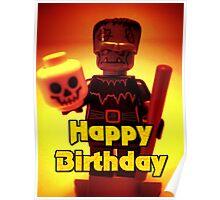 Happy Birthday Frankensteins Monster  Poster